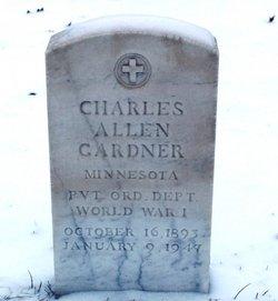 Pvt Charles Allen Gardner