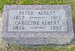 Caroline <I>Baumann</I> Albert