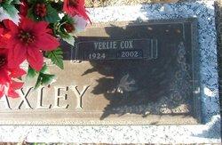 Verlie <I>Cox</I> Baxley