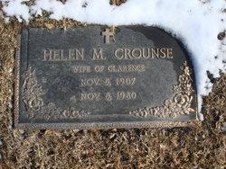 Helen M Crounse