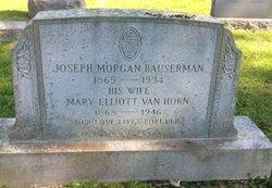 Mary Elliott <I>VanHorn</I> Bauserman
