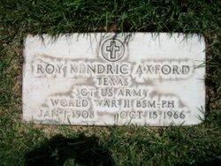 Roy Kendric Axford