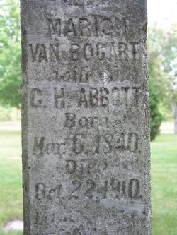 Marion <I>Van Bogart</I> Abbott