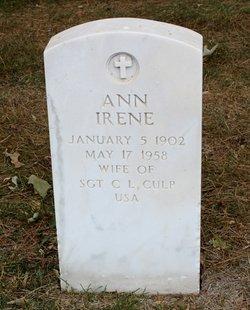 Ann Irene Culp