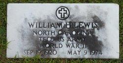 Rev William Herman Lewis