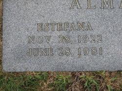 Mary L <I>Farnsworth</I> Almanza