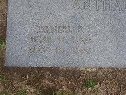 Daniel F Anthaume
