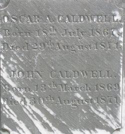 Oscar A Caldwell