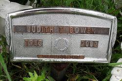 Judith Ann <I>Taylor</I> Bowen