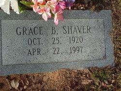 Grace <I>Brooks</I> Shaver