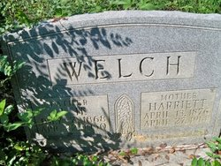 Harriett Jane <I>Brown</I> Welch