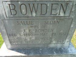 James E. Bowden