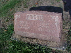 Mollie Amelia <I>Sorensen</I> Friend