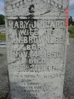 Mary Jane <I>Hoard</I> Brownlee