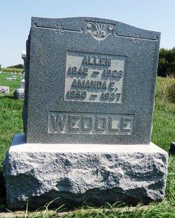 Amanda E. <I>Gill</I> Weddle
