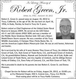 Robert Elwood Green, Jr