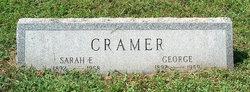 Sarah Elizabeth <I>Suydam</I> Cramer