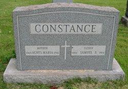 Agnes Maria <I>Chioda</I> Constance