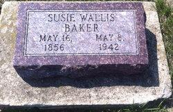 Susie <I>Wallis</I> Baker