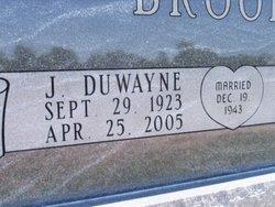 J Duwayne Brooks