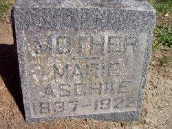 Marie A <I>Felt</I> Aschke