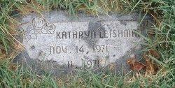 Kathryn Leishman