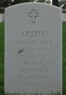 Lessie Lee <I>Garrett</I> Baughan