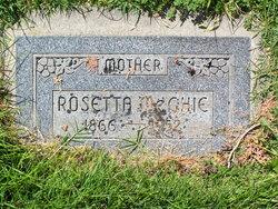 Rosetta Lavinia <I>Daw</I> McGhie