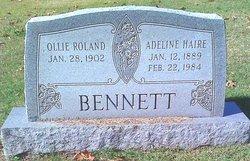 Adeline <I>Haire</I> Bennett