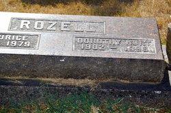 Dorothy E <I>Hurt</I> Rozell