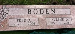 LaVerne Olga Johanna <I>Hylander</I> Boden