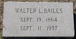 Walter L Bailes