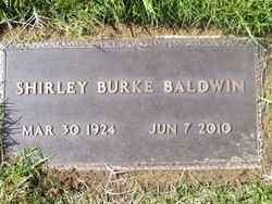 Shirley June <I>Burke</I> Baldwin