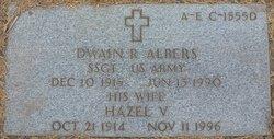 Hazel V Albers