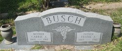 "Caroline A ""Carrie"" <I>Shairp</I> Busch"