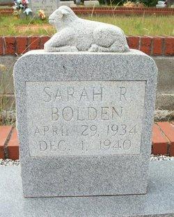Sarah R. Bolden