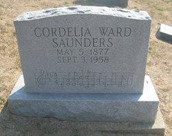 Cordelia <I>Ward</I> Saunders