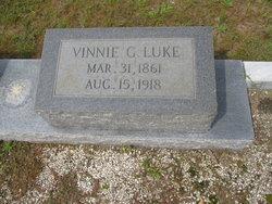 """Elvina """"Vinnie"""" <I>Giddens</I> Luke"""