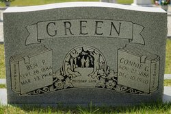 Connie I. <I>Green</I> Green