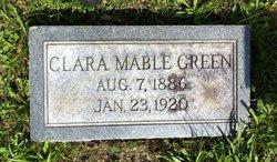 Clara Mabel <I>Padgett</I> Green