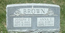 Anna E Brown