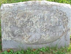 Elizabeth <I>Curd</I> Rule