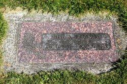 Rose Ann <I>Moser</I> Johnson