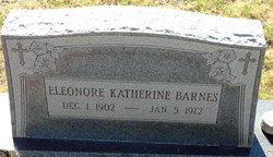 "Eleonore Katherine ""Ella"" <I>Peters</I> Barnes"