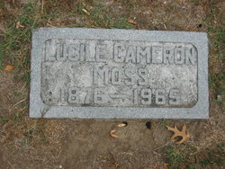 Lucile <I>Cameron</I> Moss