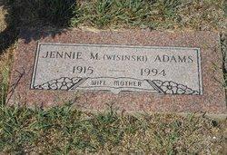 Jennie Wisinski <I>Lago</I> Adams