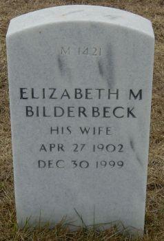 Elizabeth M Bilderbeck