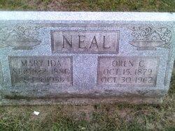 Mary Ida <I>Kuhn</I> Neal
