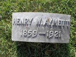 Henry Walton Aymett
