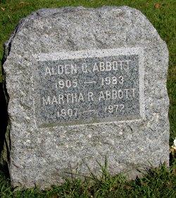 Martha M <I>Robinson</I> Abbott